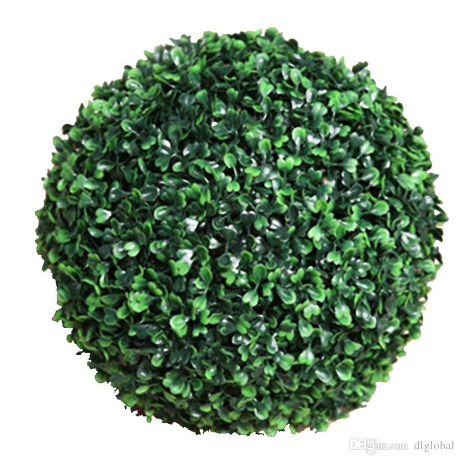 2018 Wedding Grass Balls Artificial Plants Decorative Big Round ...