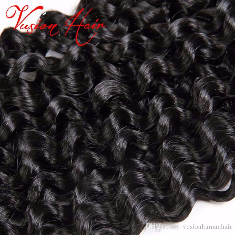 Intrecciatura sintetica Capelli ricci tessuto 14 pollici 30 mani / pacco Estensione dei capelli all'uncinetto Freetress Sintetico onda d'acqua Bulk capelli Crochet trecce