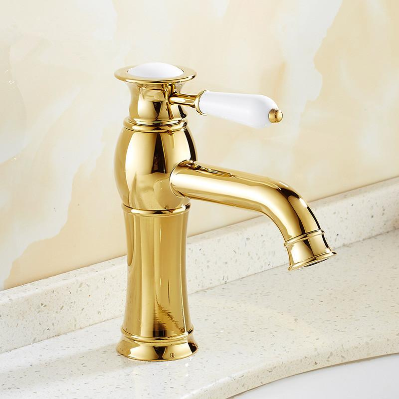 Bathroom Faucets Gold Finish 2017 modern modern gold faucet,gold bathroom faucets,gold finish