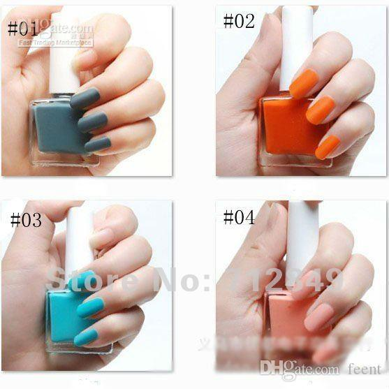 12ml Barbaric Girl New Fashion Quick Drying Matte Frosted Nail ...