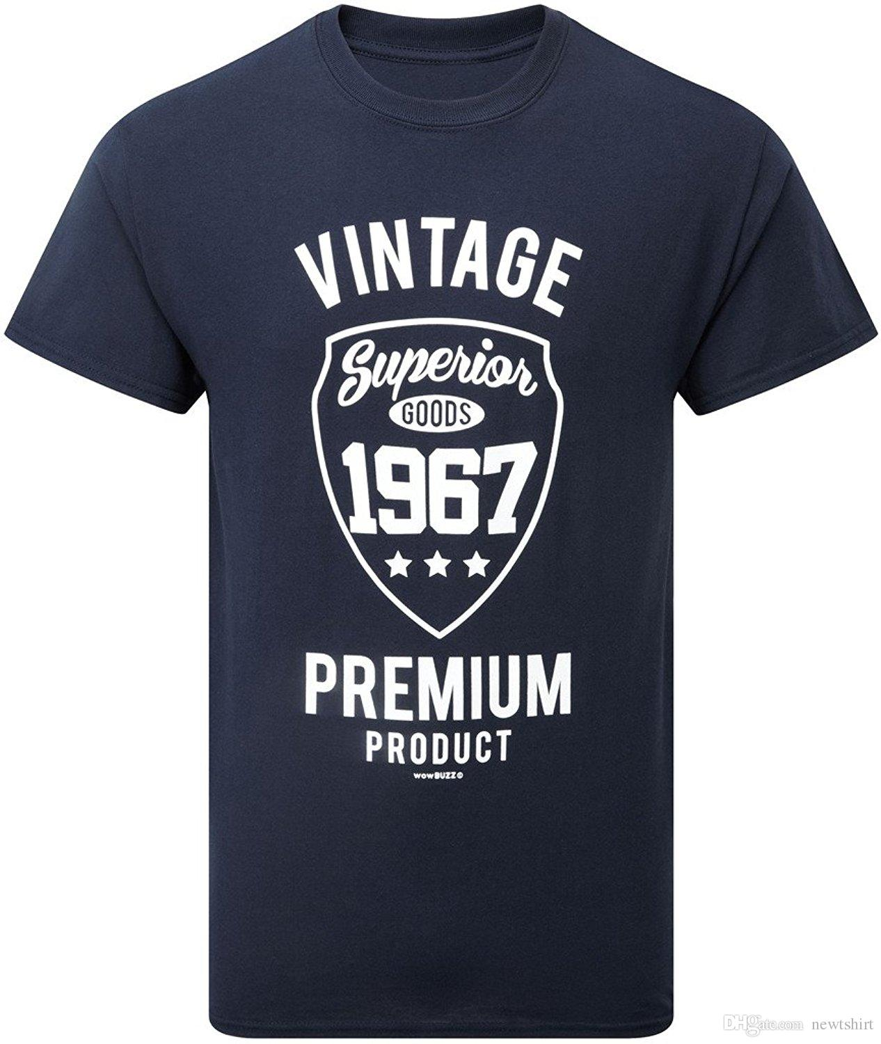 Vintage 1967 Mens 50th Birthday Gift Navy Newest 2017 Men'S ...