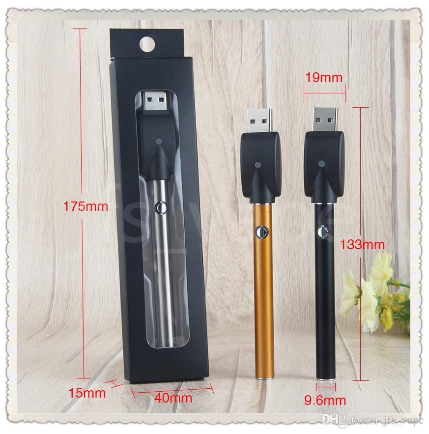 Vape O-Pen 510 thread bud touch battery mini slim open button batteries for ce3 cartridge atomizer