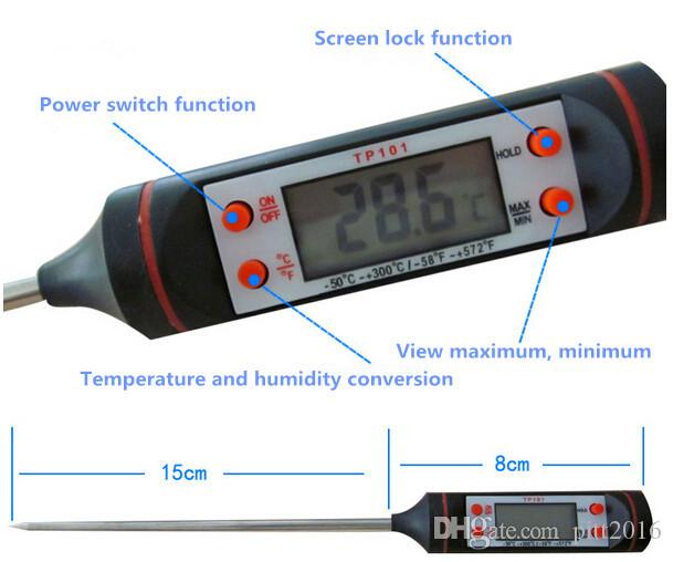 Hot sale Digital Food Thermometer Pen Style Kitchen BBQ Dining Tools Temperature Measurement Instruments Cooking