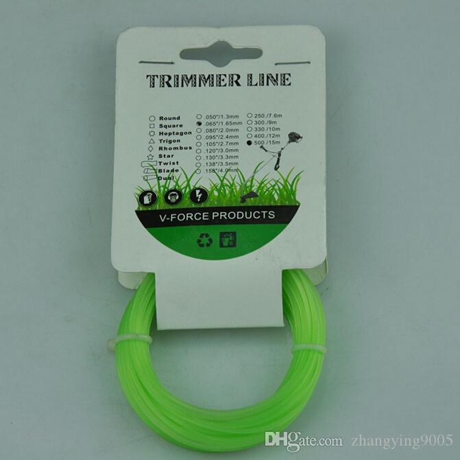 Two Pcs Bag CG 430 520 brush cutter grass trimmer round nylon trimmer line with 3.0MM*15M size for sale