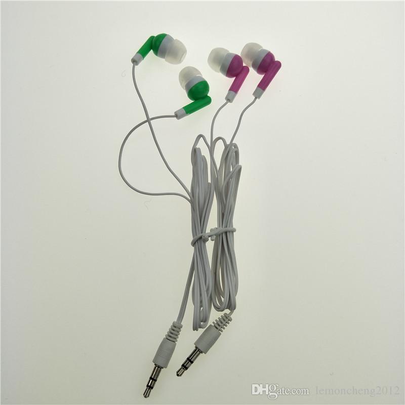 Оптовая оптом наушники гарнитура наушники 3,5 мм наушники-вкладыши для мобильного телефона MP3 MP4 1500 шт. / Лот бесплатная доставка