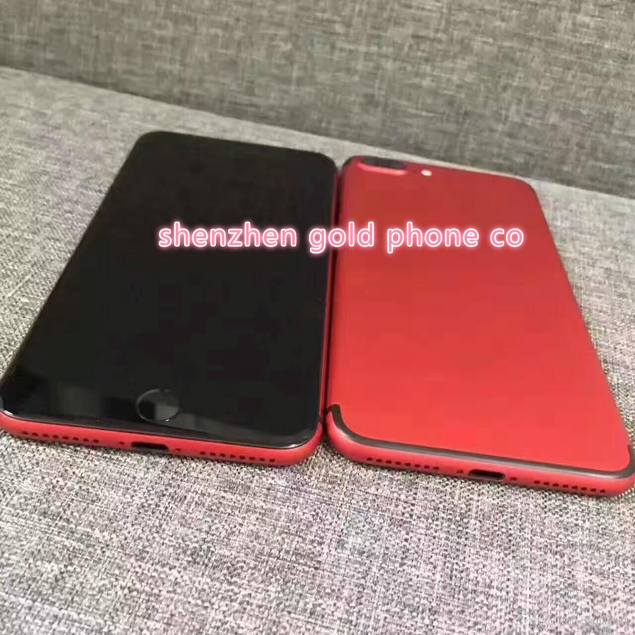 outlet store 13b93 7b834 new red color Back Housing For Iphone 6 Matte Red Battery Back Cover Door  Case Parts Hot sell colorful back cover for iphone 6 but 7 style