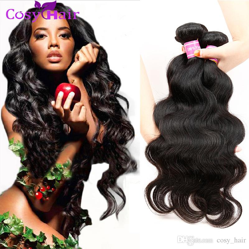 Cheap cosy brazilian indian body wave remy human hair weaves 4 cheap cosy brazilian indian body wave remy human hair weaves 4 bundles brazilian virgin human body wave hair soft unprocessed natural black hair for weaving pmusecretfo Choice Image