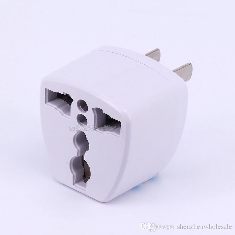 High Quality Travel Charger AC Electrical Power UK/AU/EU To US Plug Adapter Converter USA Universal Power Plug Adaptador ConnectorWhite