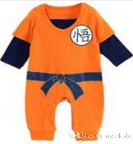 Dragon Ball Baby Rompers Newborn Boy Clothes For Newborn Babes Bebe Overalls Halloween Costumes For Baby Boy Girl Clothes