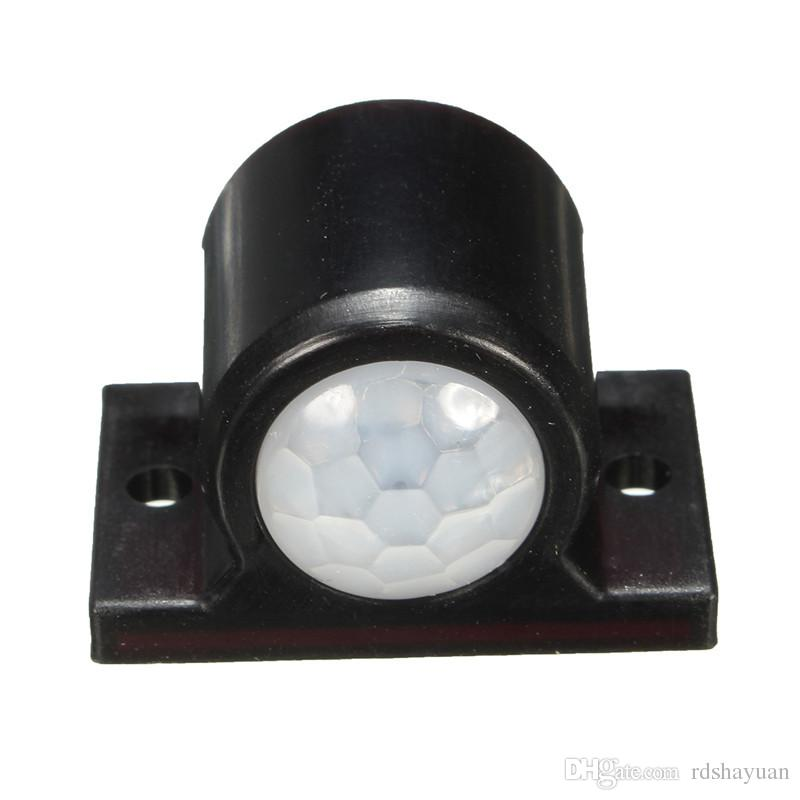2A LED Automatic On Off Strip Outdoor Infrared PIR Body Motion Sensor Detector Wall Light Switch 3-12V 120 Degree Within 3 Meter