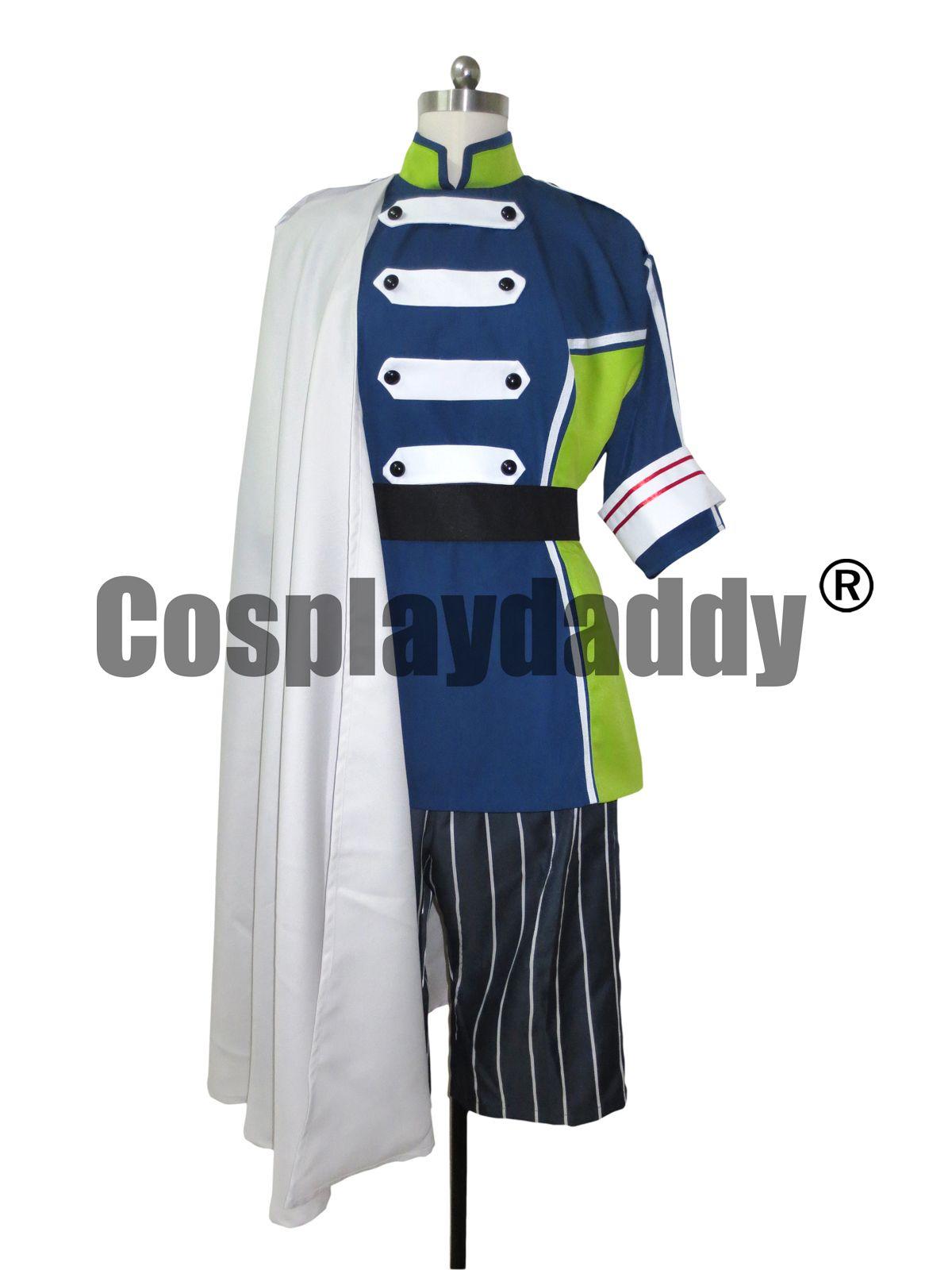 Makai Ouji Devils Et Réaliste Cosplay Costume Uniforme Camio H008