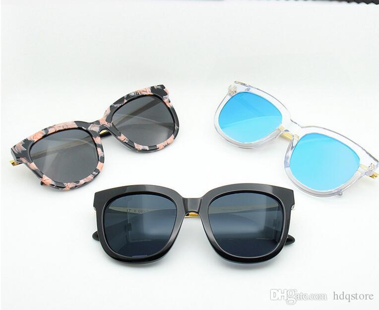 c83f602bf1 Compre 2016 Moda Estilo V Marca GM ABSENTE Gafas De Sol Mujeres Marca  Diseño Marco Cuadrado Gafas De Sol UV400 Oculos De Sol Feminino Con Caja A  $50.44 Del ...