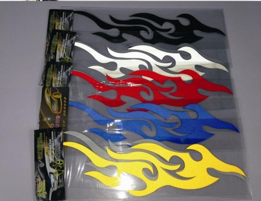 автомобиля стикер стайлинга двигателя капот мотоцикл наклейка декор росписи виниловые обложки аксессуары авто пламя огонь