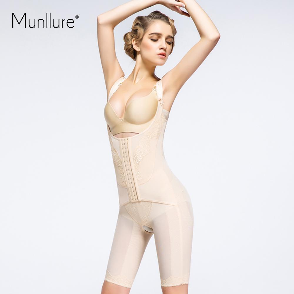 8d42dcd728644 Wholesale- Munllure Basic Waist Corsets Push Up Bra Body Shaper Hot Shapers  Belt Trouser Legs Active Silk Protein One-piece Body Shaping Bra Body Shaper  Hot ...
