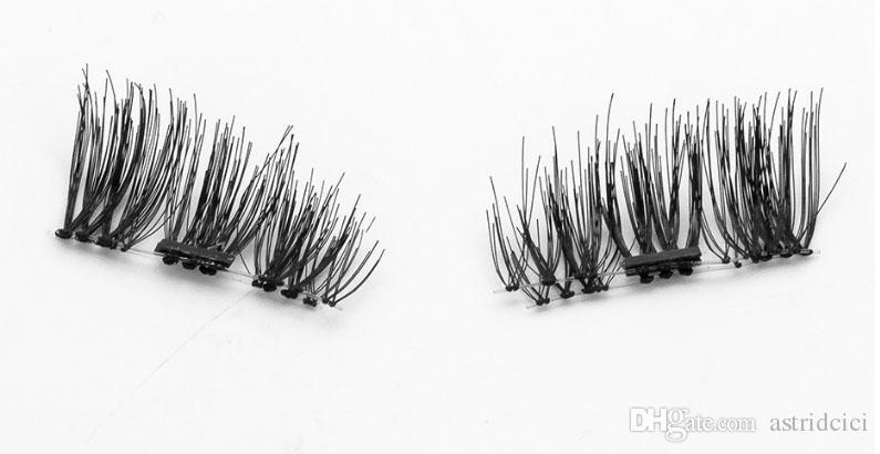 Magnetic Eyelashes Magnet False Eyelash High Quality Magnetic Lashes Magnet Eyelashes Magnetic Beauty Makeup Set 3D Fake Lashes