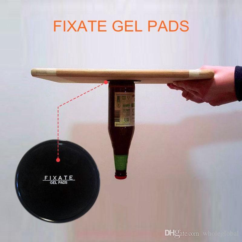 Fixate Gel Pads Strong Sticky Anti Slip Mat Non Slip Car Dashboard Wall Sticker Powerful Silica Magic Car Mobile Phone Holder