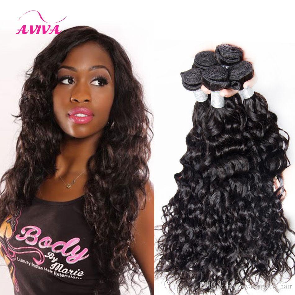 8A Péruvien Indien Malaisien Cambodgien Brésilien Vierge Cheveux Faisceaux Bundles Vague Profonde Lâche Vague Profonde Curly Naturel Extensions de Cheveux Humains