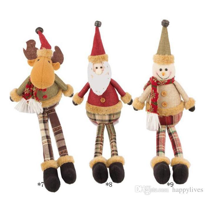 Christmas Elf Doll Fashion Funny Plush Toy Christmas Gift For Kids Vintage Christmas Elf Doll Russ Christmas Troll Reindeer Christmas Ragdol