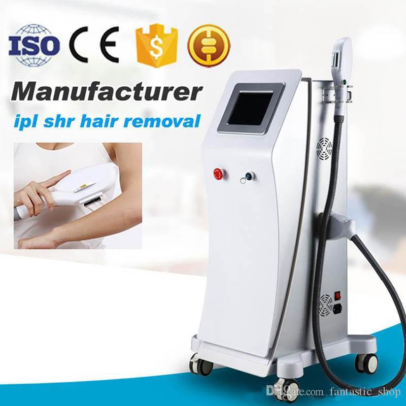 OPT SHR IPL Machine Painfree Permanent Laser Hair Removal e light IPL Skin  Treatment Pigment Acne Therapy Beauty Equipment CE