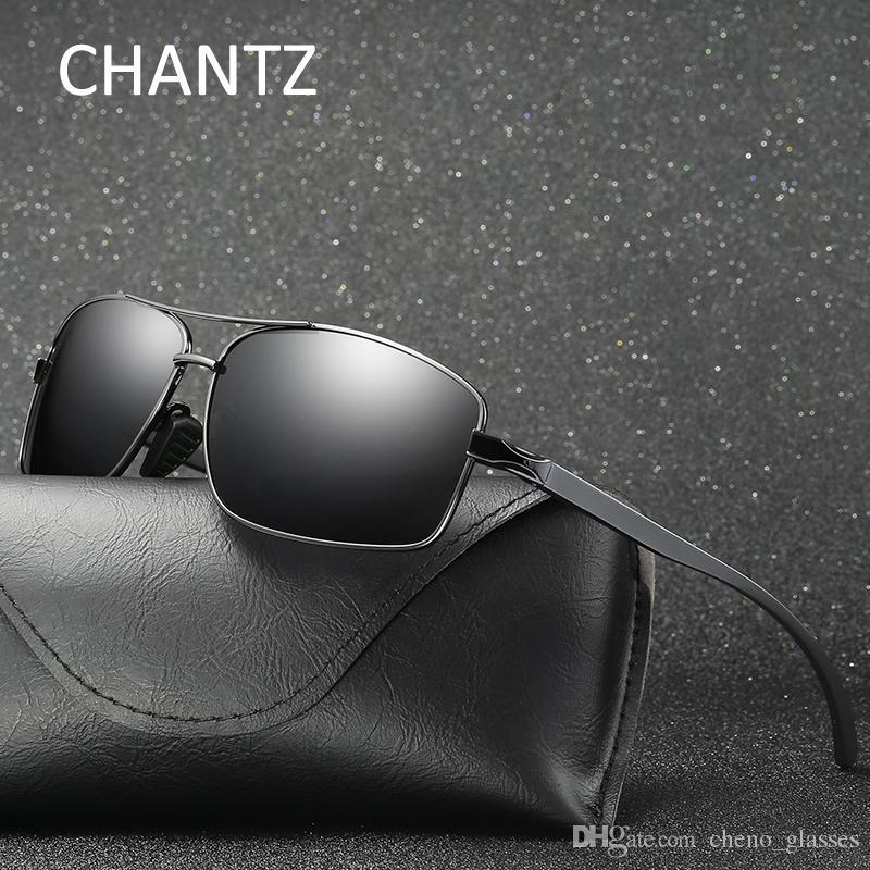 9574593cc5f Vintage Mens Aluminium Magnesium Polarized Sunglasses 2017 Fashion ...