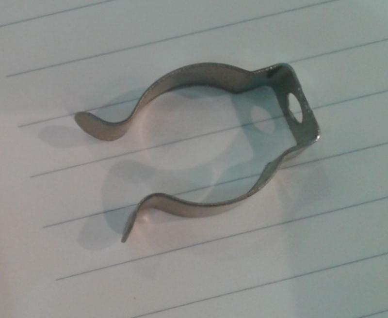 T5 / T8 / T4 lámpara abrazadera de tubo anillo abrazadera de tubo abrazadera de sujeción clip de retención hebilla de resorte clip de metal tarjeta fluorescente, envío gratuito de DHL