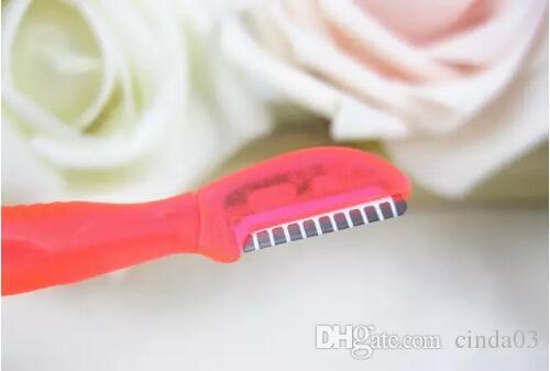 heißer Verkauf - Gesichtspflege Miniaugenbrauentrimmer Rasierklingen für Frauen Make-up bearbeitet antibakteriellen Schutzfilmgroßverkauf / Los Fre
