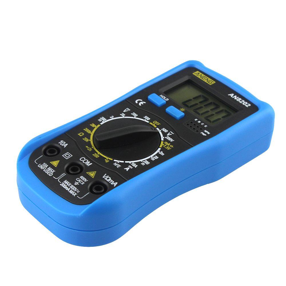 Цифровой мультиметр LCD Цифровой мультиметр DC AC Напряжение Диод Freguency Multitester