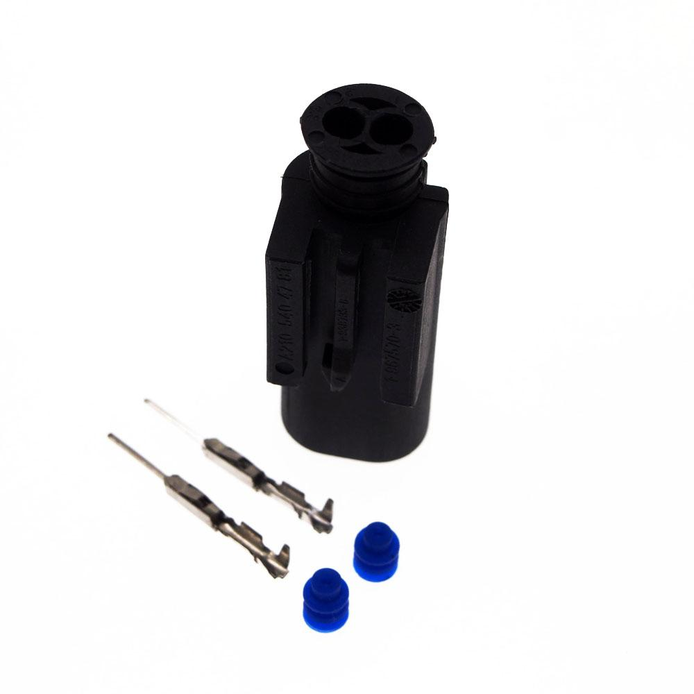 2Pin 1.0mm Auto male connector,water Temp sensor plug,Car Temp Electrical connector for BMW,Buick