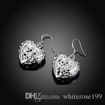 Hurtownie - najniższa cena Christmas Gift 925 Sterling Silver Moda Kolczyki E075