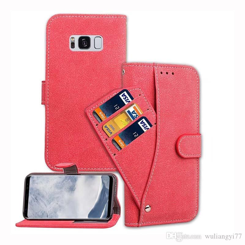 Nice Folio Flip PU Leather Case for iPhone 8 7 plus Magnetic Detachable Slim Back Cover Card Holder Slot wallet Case for iPhone X 10