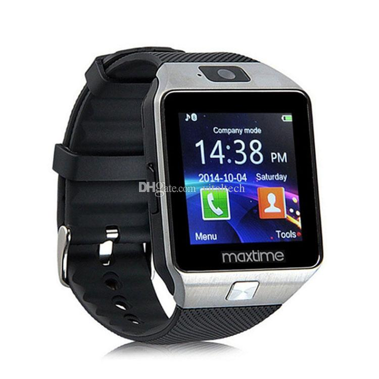 DZ09 smart watch music player SIM Intelligent mobile phone watch can record the sleep state can fit 32G sd card GT08 A1 U8 also in stock