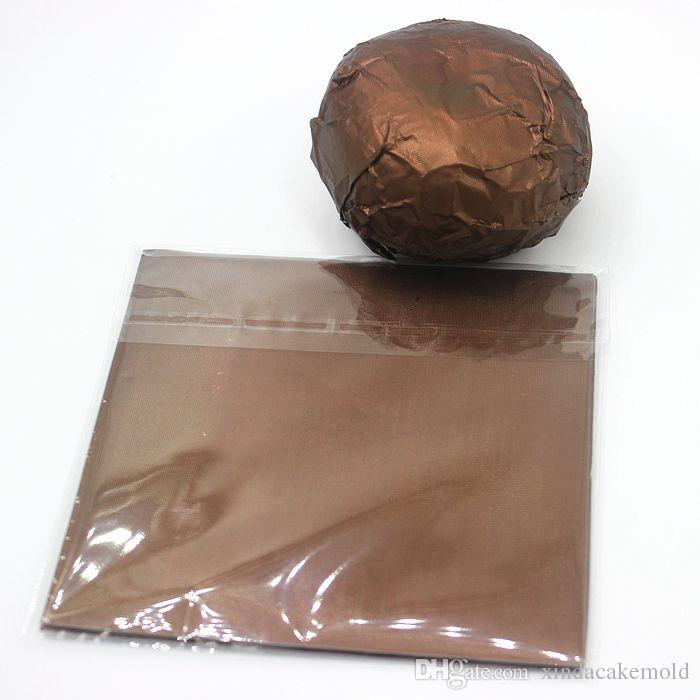 New Style Chocolate Package Tin Foil Baking Paper Thickening 9 Colours Candy Sugar Tea Wrapping Paper Decoration 12*12cm