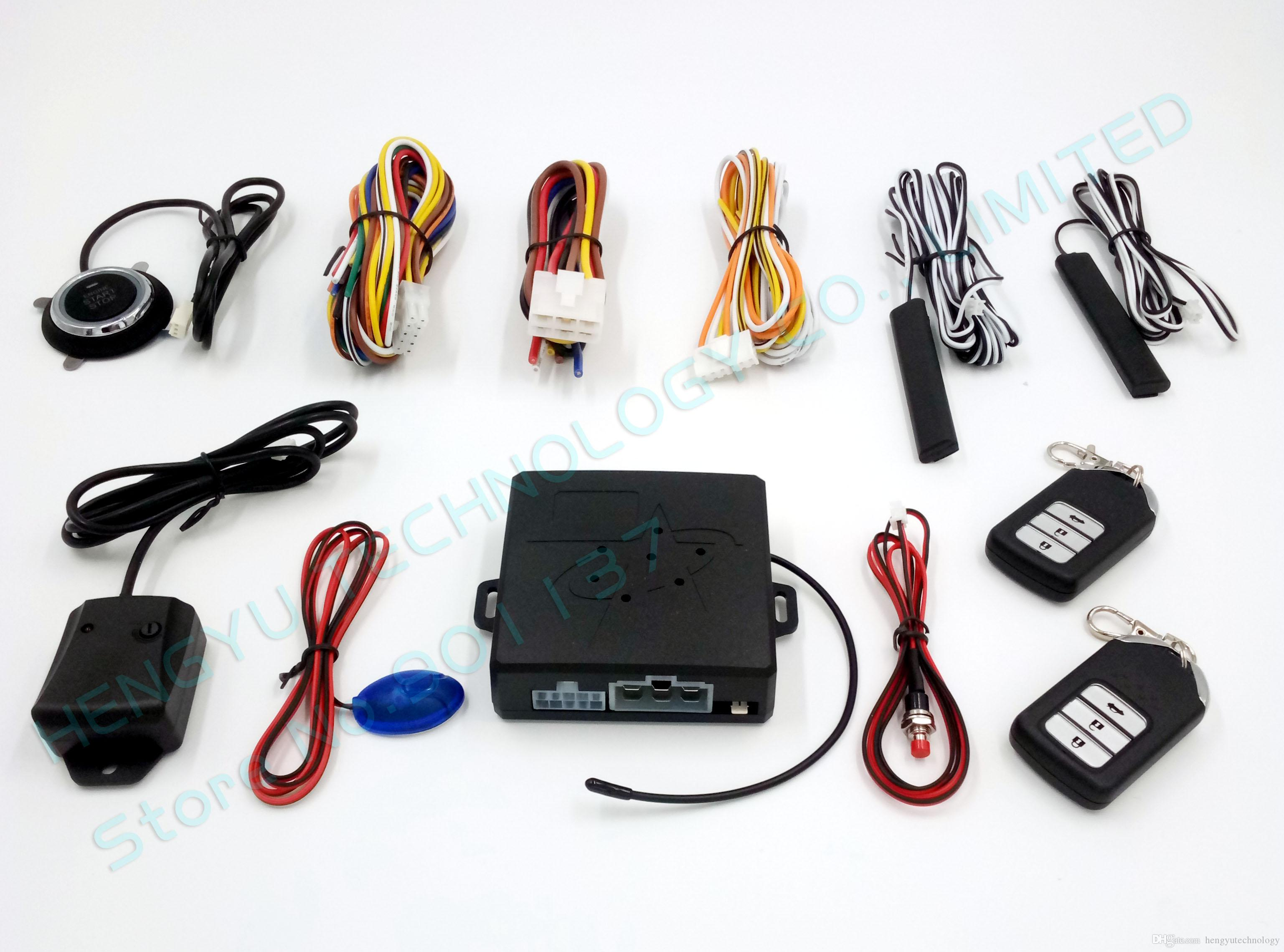 Best Smart Car Alarm Passive Keyless Entry Auto Lock Or Unlock Car ...
