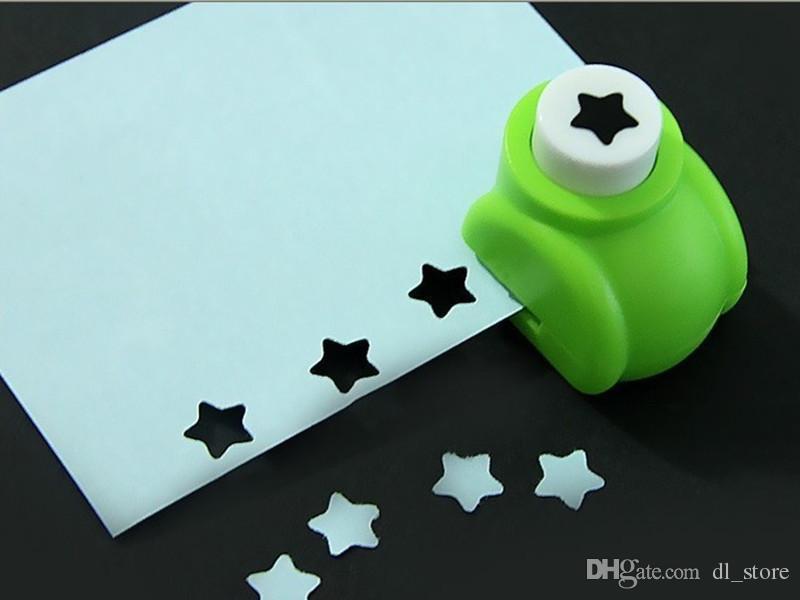 Mini ofício do perfurador de papel Padrão de papel oco cortador papelaria Criativa diy mão artesanato ferramentas presentes das crianças DL_CR014