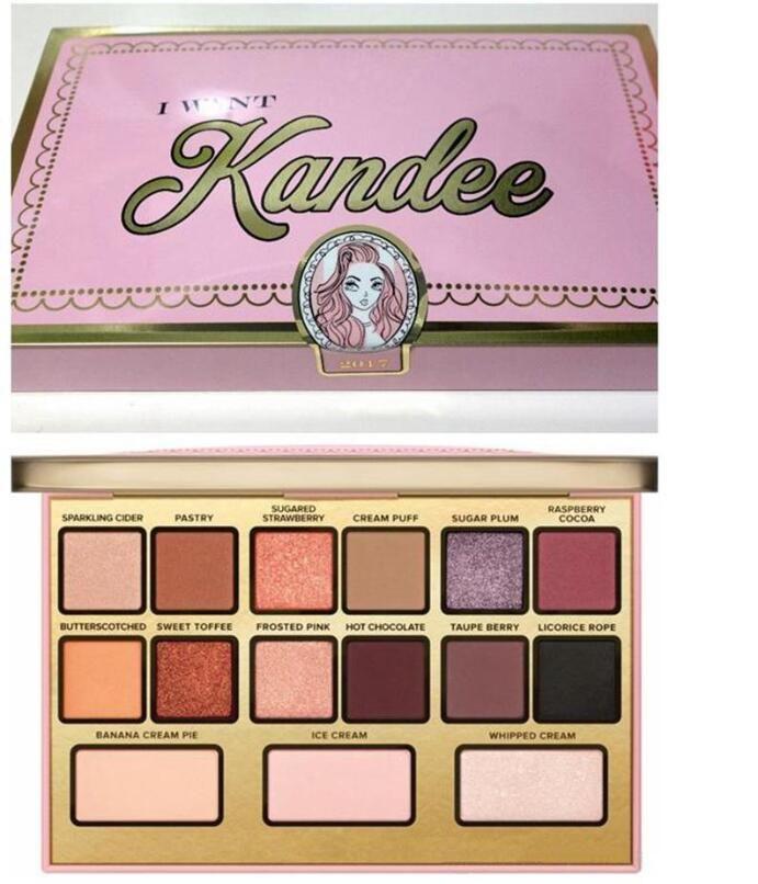 Marke ich will Kandee Lidschatten Palatte Ich will Kandee Limited Edition CANDY EYE LIDSCHATTEN-PALETTE 15 Farben Lidschatten Palatte Geschenk