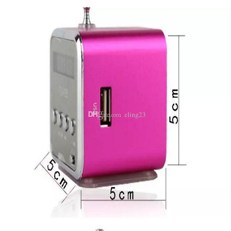 DHL wholesale new five colors mini speaker sound card speaker cell phone computer univeral speaker