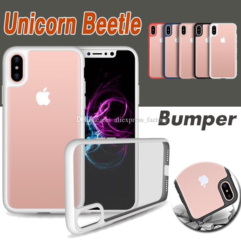 finest selection 7f0ac f1dc3 Unicorn Beetle Hybrid Camera Lens Soft TPU Gel UltraTransparent Case Cover  For iPhone XS Max XR X 7 6 6S Plus 5 5S Samsung Galaxy Note 8 S8