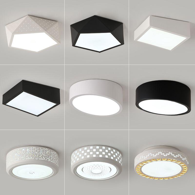 Großhandel LED Deckenleuchten Runde Schlafzimmer Lampe Moderne ...