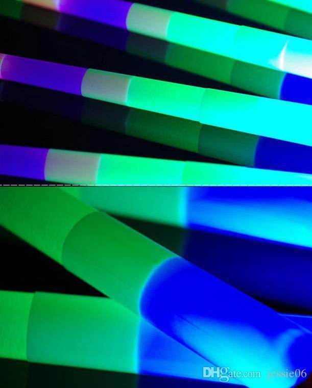 글로우 스틱 LED 다채로운 봉 깜박이 주도 검 빛 환호 파티 디스코 글로우 지팡이 축구 음악 콘서트 응원 소품 상금 선물