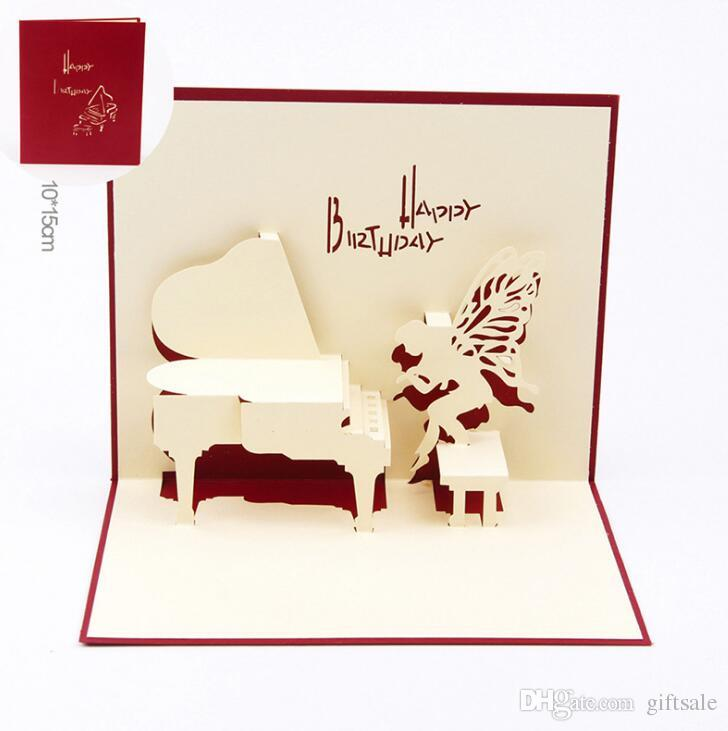 Birthday Greeting Cards 3d Laser Cut Happy Birthday Greeting Cards – Happy Birthday Post Cards