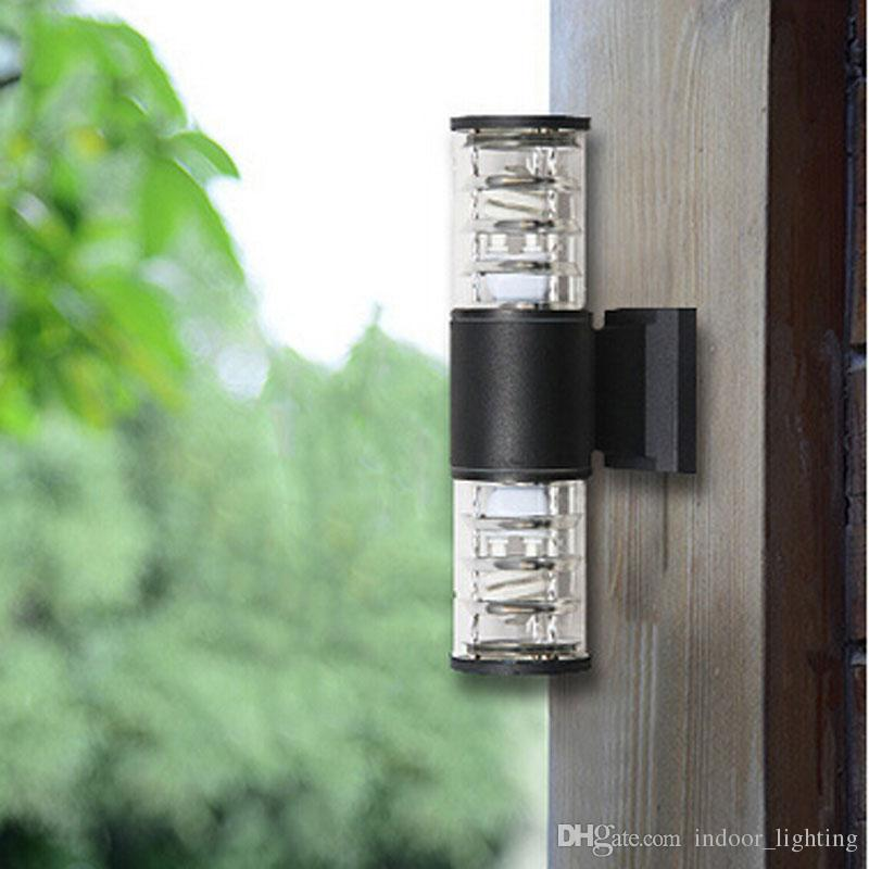 Best 10w Up Down Outdoor Led Wall Light Cylinder Porch Lamp Exterior ...