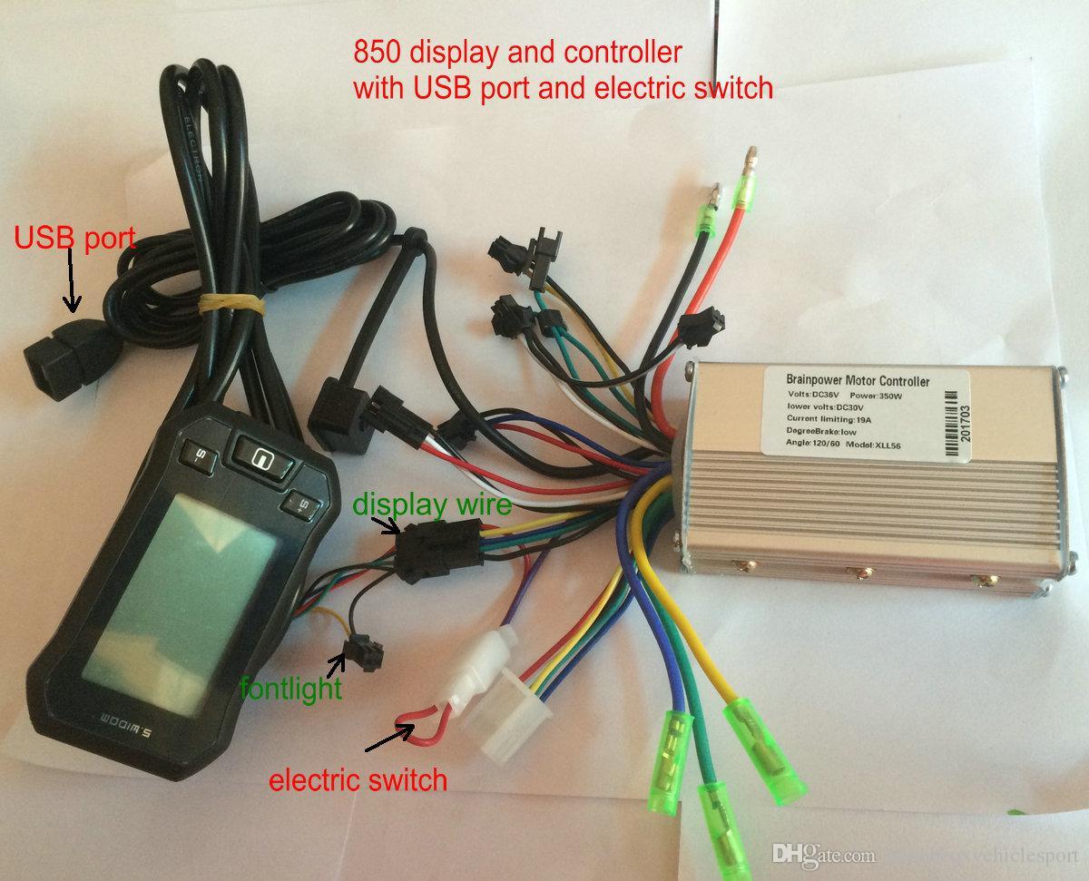 2018 Electric Scooter Lcd Display Amp Controller 24v36v48v