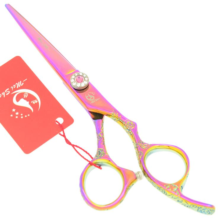 6.0Inch Meisha Hair Cutting Scissors for Hairdressers Barber Shop Supplies Professional Hairdressing Scissors Barber Razor,HA0335