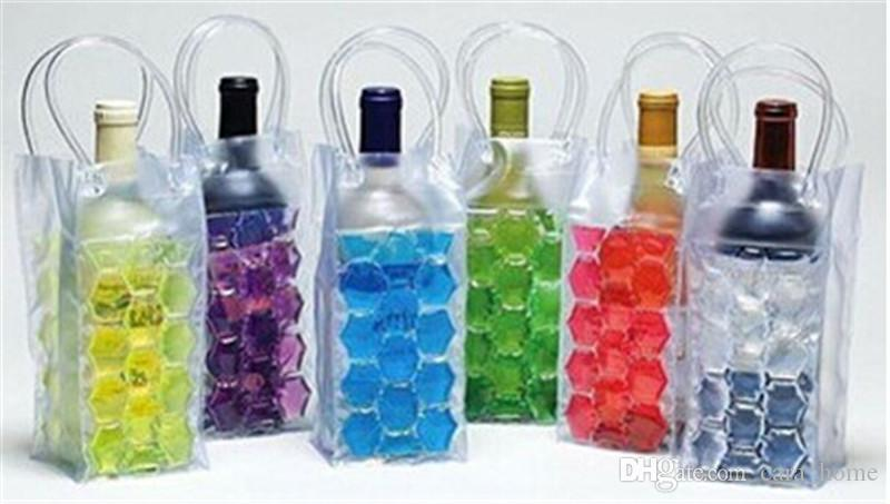 wine bottle chill cooler ice bag ice bubble beer cans packs barrels ice packs freezer bag vodka tequila chiller cooler from carahome