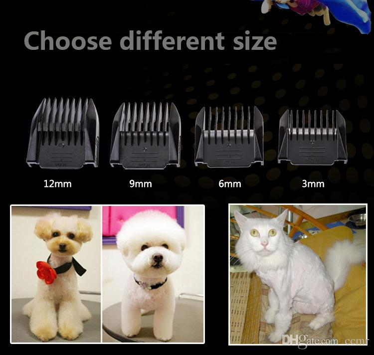 2019 Hot sale professional luxury pet hair electric black and gold clipper for dog and cat cutting grooming tool trimmer free ship
