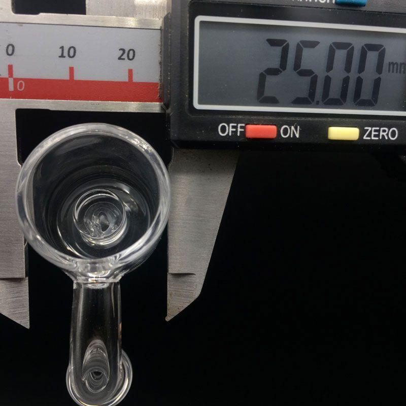 2mm XL 25mm OD Flat Top Banger al quarzo Chiodi 10mm 14mm 18mm Joint Core Reactor Quarzo Banger Chiodi vetro Bong Oil Rigs