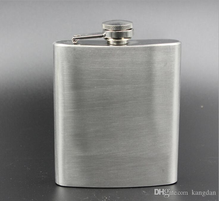 8 ounce stainless steel hip flask beer flasks pocket flasks wine flask liquor flask outdoor camping fishing portable wine bottle