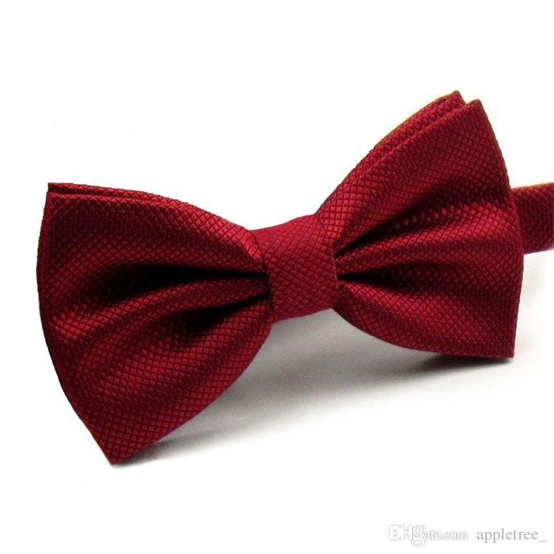 bowtie Bow Tie for Men Wedding party solid purple gold bow ties Women mens bowties fashion accessories wholesale