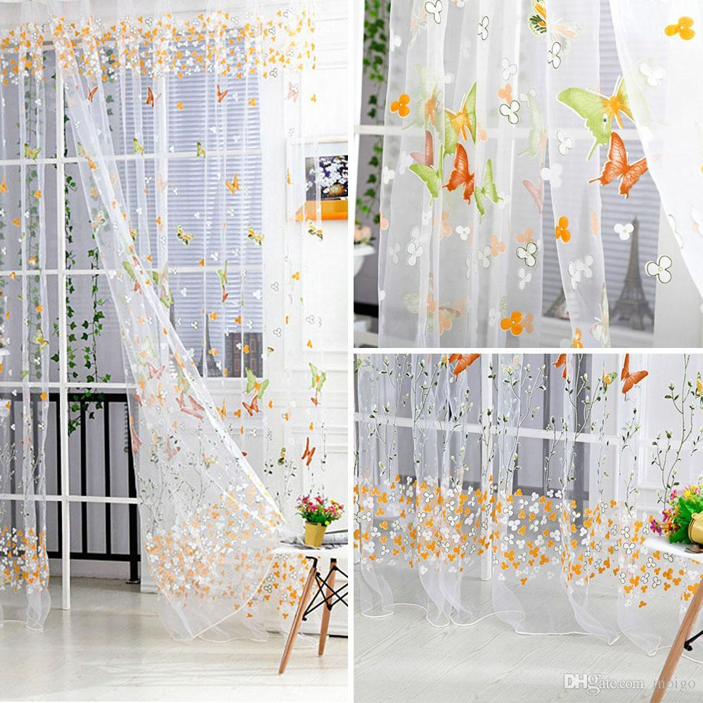 sheer panel curtains