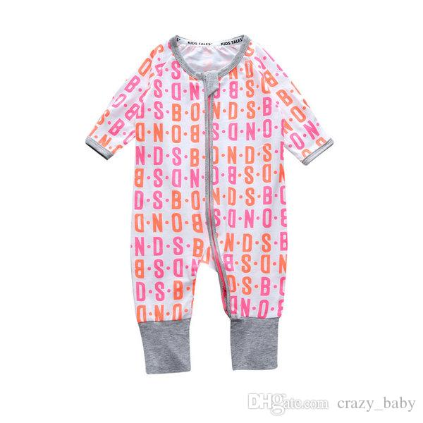 Baby Boy Clothes for Newborns Sliders With Long Sleeve Baby Girl Children's Overalls Jumpsuit Pajamas Baby Clothes Girls